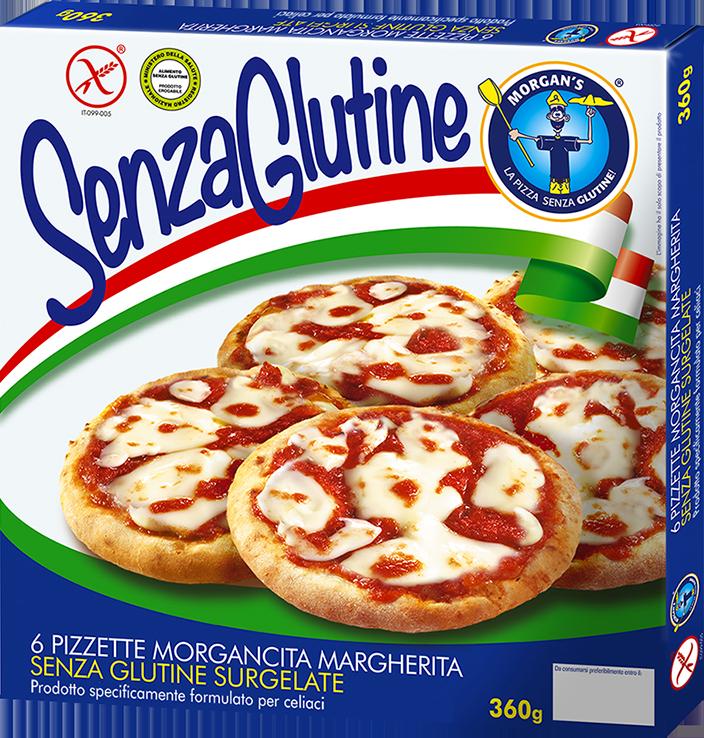 6 pizzette margherita Morgan's