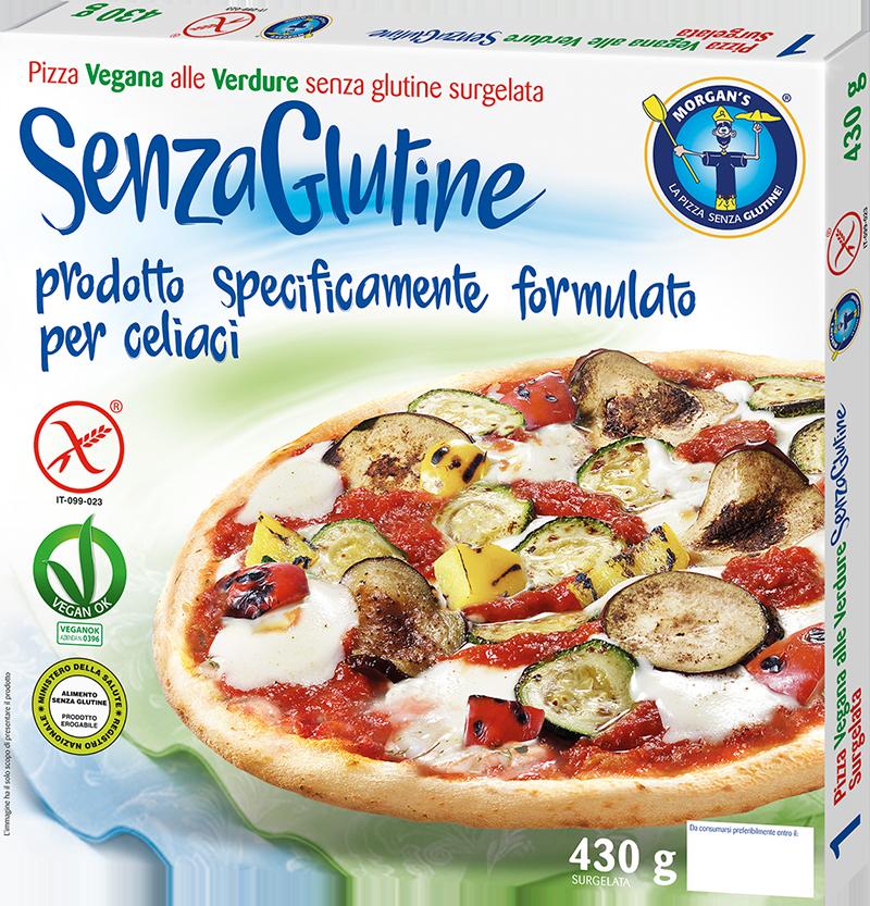 Pizza Vegana alle verdure Morgan's