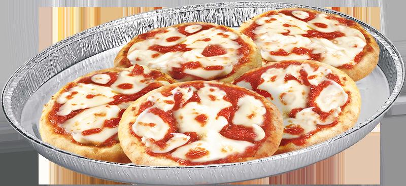 6 pizzette margherita