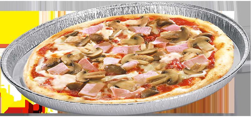 Pizza Prosciutto cotto e Funghi